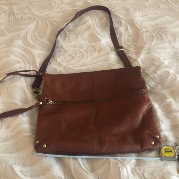 Lucky Brand Handbags - Brown leather cross body lucky brand purse